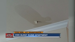 YOU ASK: Couple upset over flooded apartment