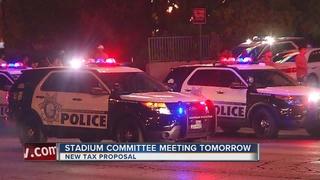 Stadium committee considering sales tax proposal