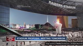 Thursday meeting to discuss proposed stadium