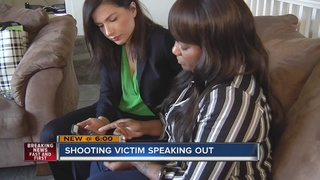 Shooting victim speaks out after friend killed