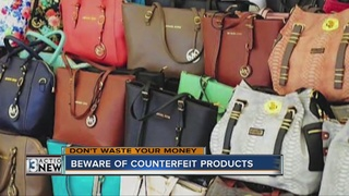 DON'T WASTE YOUR MONEY: Counterfeit items online