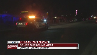 Police surround area near Charleston, Eastern