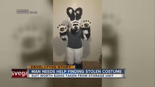 Furry costume stolen from storage facility
