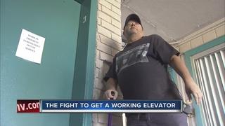 UPDATE: Apartment elevator breaks down again