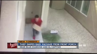 CAUGHT ON CAMERA: Package theft in SW Las Vegas