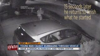 CAUGHT ON CAMERA: Another Summerlin car break-in