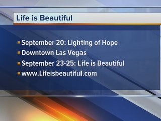 Life is Beautiful helps community