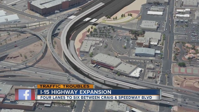 TRAFFIC TROUBLES: I-15 widening project