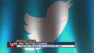 Twitter relaxes 140-character limit