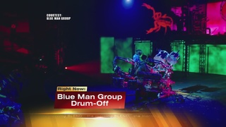 Blue Man Group Drum-Off Competition 9/20/16