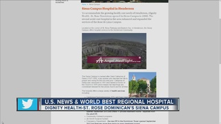 Dignity Health-St. Rose Dominican among best