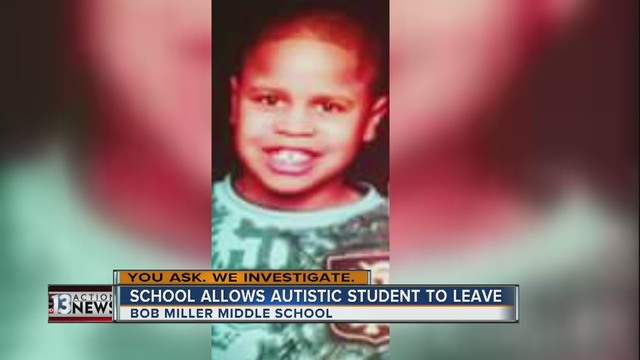 YOU ASK: Special needs child left school campus