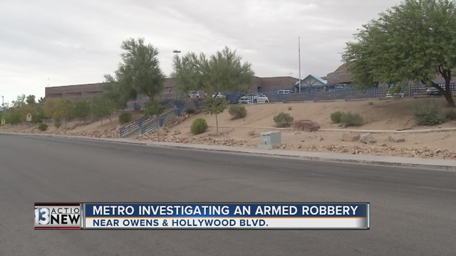 Police investigate robbery near O'Callaghan Middle School - KTNV ...
