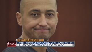 Pastor says he was attacked by neighbor's son