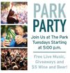 The Park hosting Party in the Park every Tuesday