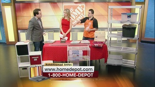 Contain Your Clutter With The Home Depot 9/21/16