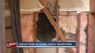 CONTACT 13: Squatter problem runs off investor