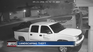 CAUGHT ON CAMERA: Trailer stolen from driveway