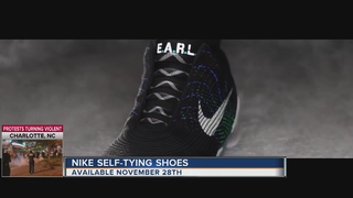 Nike to release self-lacing shoes in November