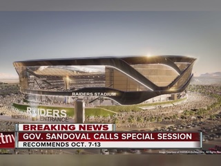 Special session on stadium could start Oct. 7