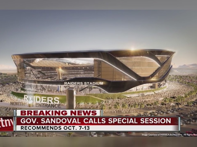 RALSTON: Sandoval calls for a special session on stadium