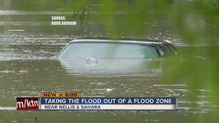 Homeowners removed from flood zone