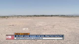 Las Vegas NHL team to practice in Summerlin