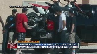 Man finds dirt bike thieves but still no arrests