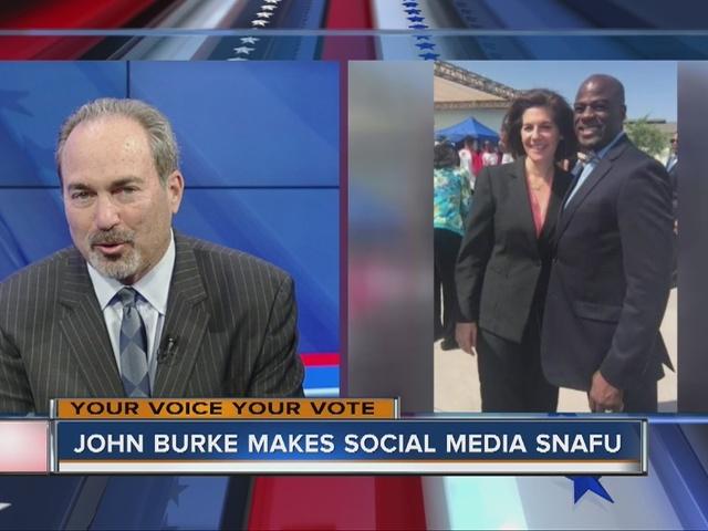 RALSTON: John Burke makes social media snafu