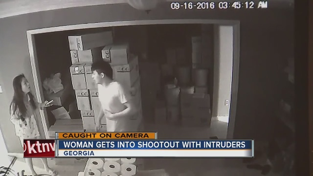 Guns Save Lives: Georgia Woman Fends Off Three Home Invaders