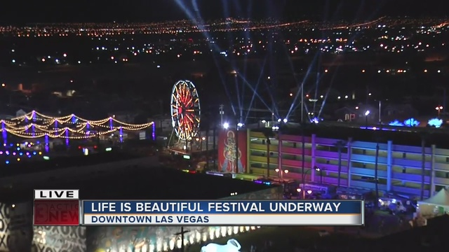 Thousands attend day one of Life is Beautiful