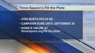 Three Square Food bank host food drive