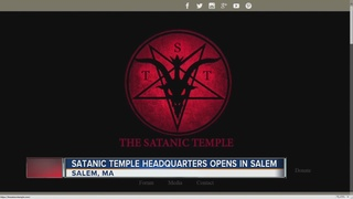 Satanic Temple opens headquarters in Salem