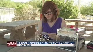 Teen beauty queen fighting for her life