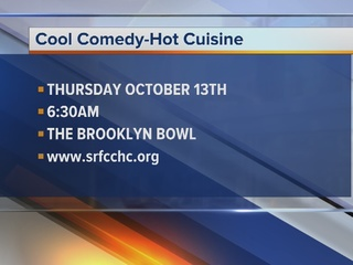 Cool Comedy Hot-Cuisine brings chefs and comedy