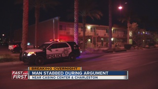 Argument leads to stabbing at apartment complex
