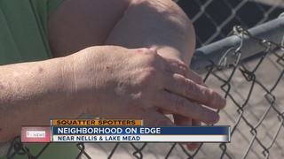 SQUATTER SPOTTERS: Neighborhood on edge