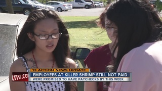 UPDATE: Killer Shrimp employees still not paid
