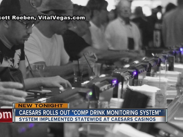 Caesars Ent. rolls out comp drink monitoring system to all its resorts