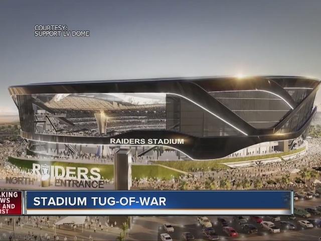 RALSTON: Las Vegas NFL stadium tug-of-war continues