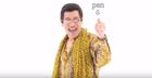 WATCH: The pen-pineapple-apple-pen song