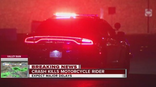 Deadly motorcycle crash on 215 beltway