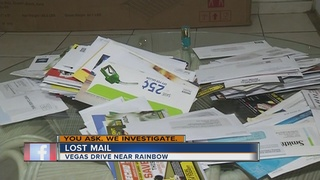 YOU ASK: Woman finds large pile of mail