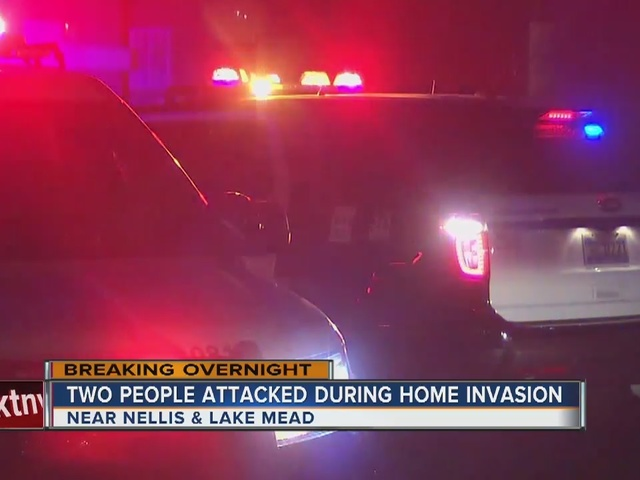 One in hospital after home invasion