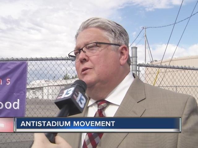 RALSTON: Jon talks anti-stadium movement