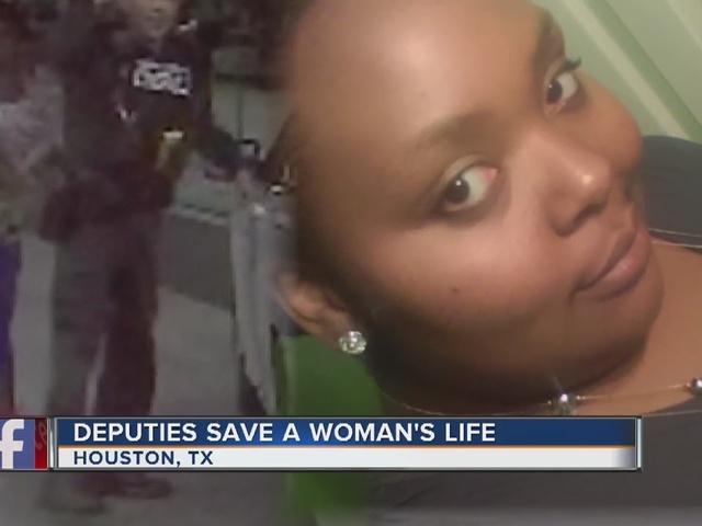 Texas deputies, flight attendant save woman's life