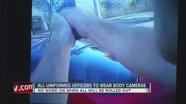 Body cameras soon mandatory for LVMPD officers
