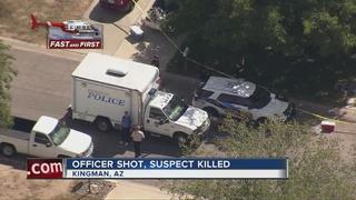 Kingman police officer, suspect shot