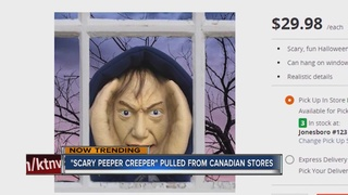 Controversial Halloween decoration pulled