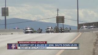 Fleeing suspect killed on 95 allegedly shot man